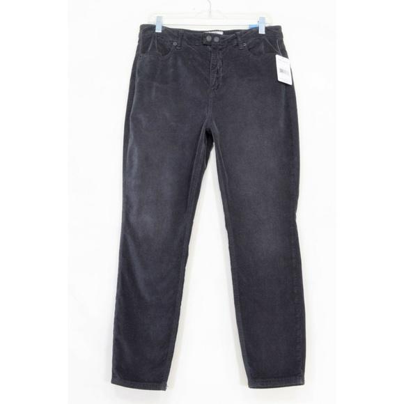 Free People Denim - Free People jeans NWT 31 x 27 ankle black corduroy